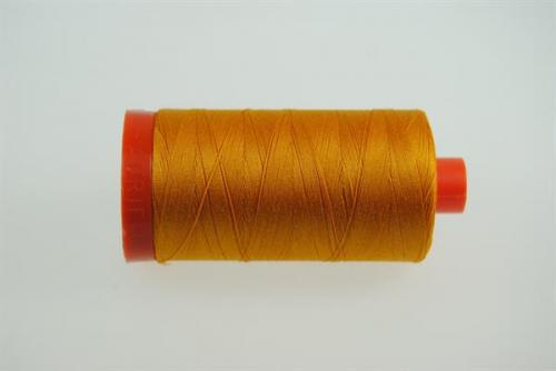 Aurifil Mako 28 100Meter Yellow Orange 2145