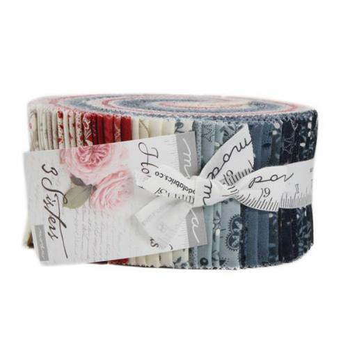 MODA 3 SISTER HOLLY WOODS 44170-JR Jelly Roll