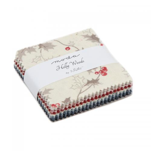 MODA 3 SISTER HOLLY WOODS 44170-MC  Mini 42 Squares 2,5 Inch