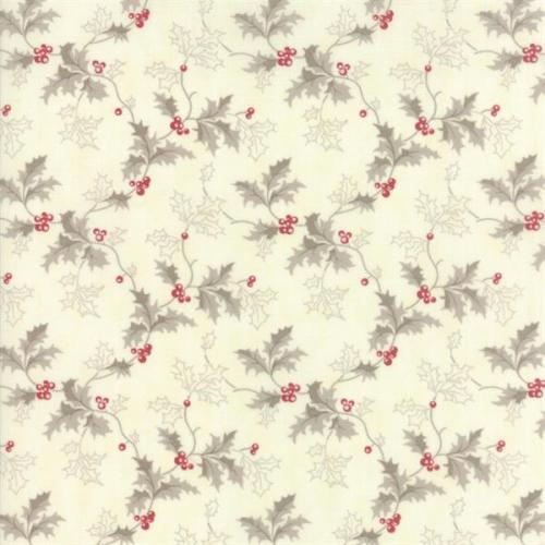 MODA 3 SISTER HOLLY WOODS SNOW BERRY 44172-11