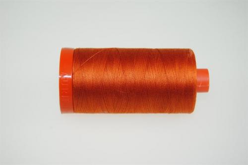 Aurifil Mako 28 100Meter Rusty Orange 2240