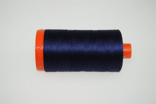 Aurifil Mako 28 100Meter Very Dark Navy 2785