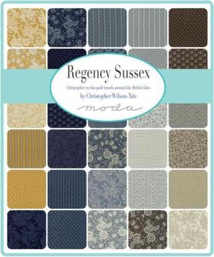 MODA Regency Sussex by Chistopher Wilson -Tate 42330PP