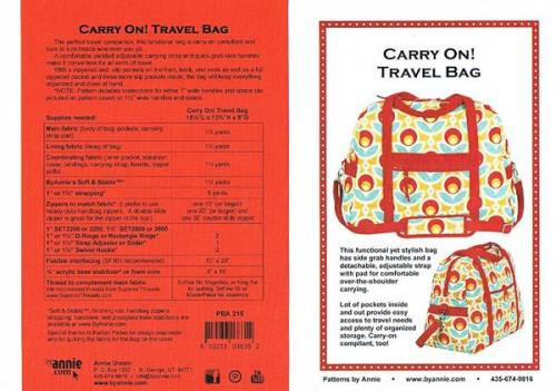 byannie CARRY ON! TRAVEL BAG