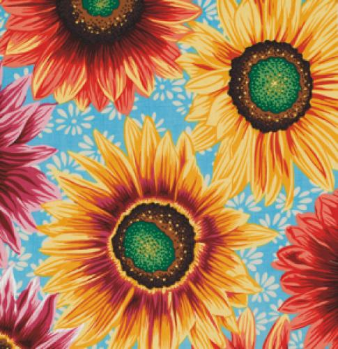 FREESPIRIT BOTANICAL SUNFLOWERS PWSL004 NATUR