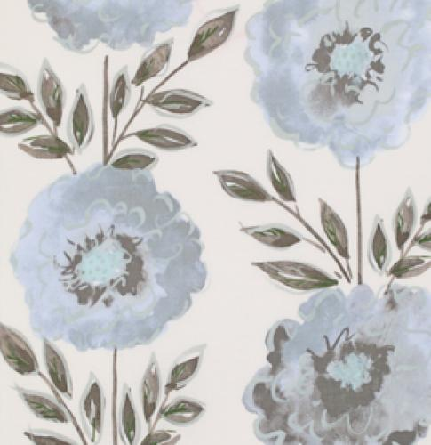 FREESPIRIT THE PAINTED GARDEN ROSE PWDF137GREY