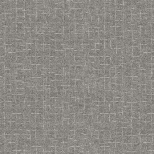 Maywood Studio Pewter Crosshatch Flannel MASF18510-K
