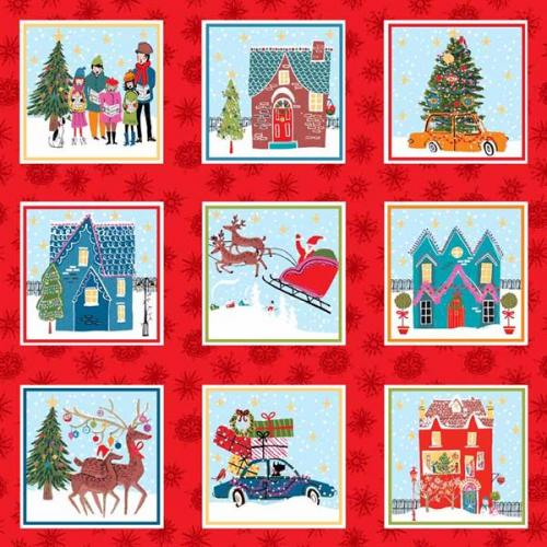 MAKOWER CHRISTMAS WONDERLAND LABELS 1460