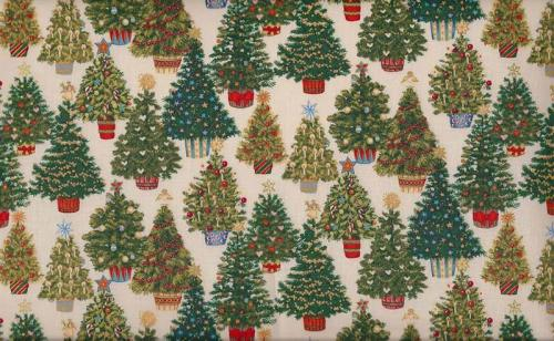 MAKOWER VINTAGE CHRISTMAS TREES 883Q
